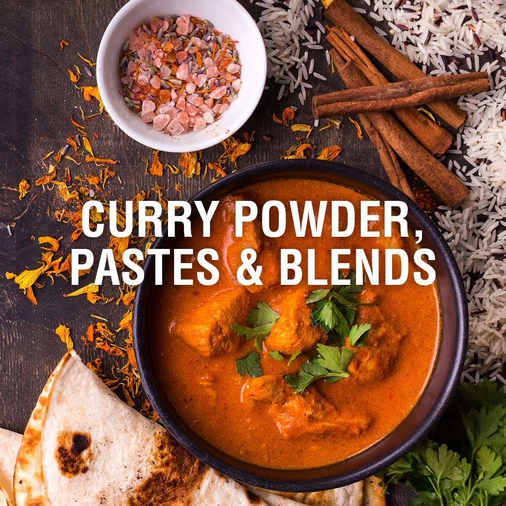 Curry Powder, Pastes & Blends
