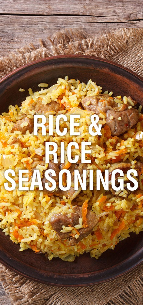 Rice & Rice Seasonings