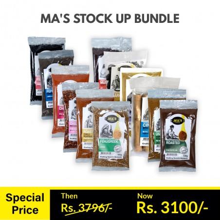 MA's Stock Up Bundle