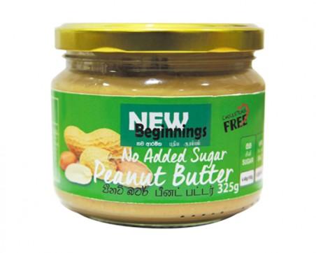 New Beginnings Peanut Butter-No Added Sugar 325g