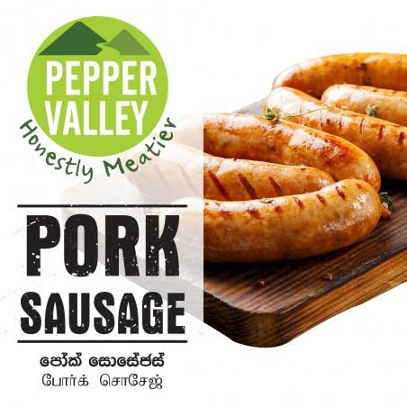 Pepper Valley Pork Sausage 300g